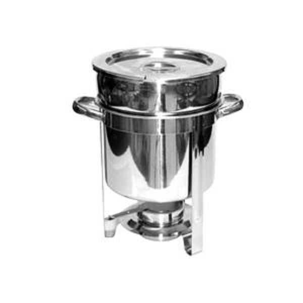 Thunder Group SLRCF8307 7 Qt. Stainless Steel Marmite Chafer