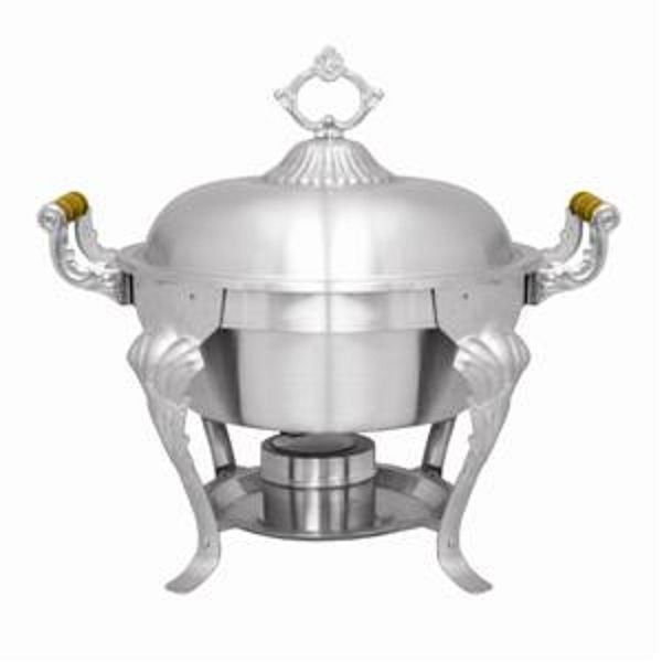 Thunder Group SLRCF8632 Deluxe Round Chafer