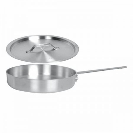 Thunder Group SLSAP070 Saute Pan With Cover 7 Qt.