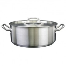 Thunder Group SLSBP025 Stainless Steel Brazier with Cover 25 Qt.