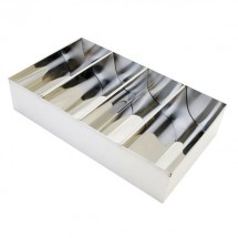 Thunder Group SLSCB04 Stainless Steel Cutlery Box