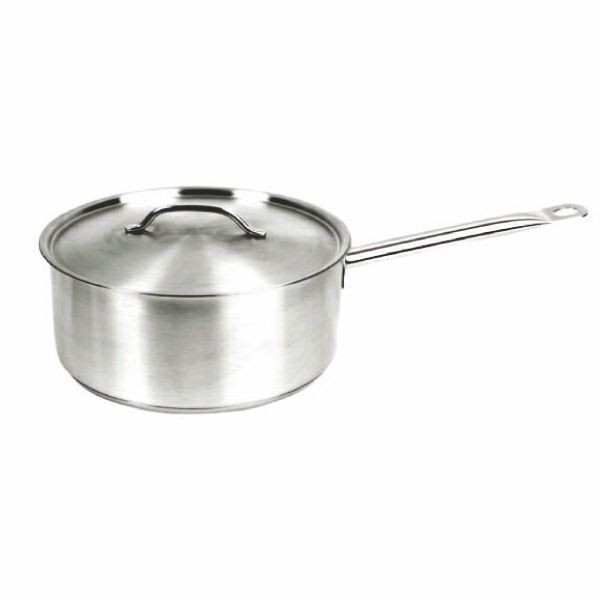 Thunder Group SLSSP060 Stainless Steel Sauce Pan 6 Qt.