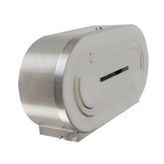Thunder Group SLTD302 Twin Jumbo-Roll Toilet Tissue Dispenser - 4 pcs