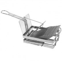 Thunder Group SLTO18 Heavy Duty Tostado Shell Basket