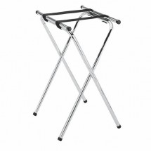 Thunder Group SLTS002 Double Bar Chrome Plated Tray Stand
