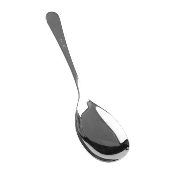 "Thunder Group SLTTS001 Stainless Steel Serving Spoon 10"" - 1 doz"
