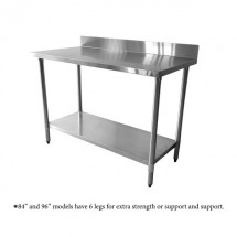 Thunder Group SLWT42484F4 Stainless Steel Work Table, 24