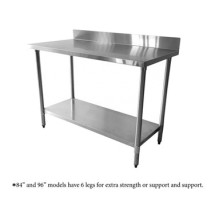 Thunder Group SLWT43084F4 Stainless Steel Work Table, 30