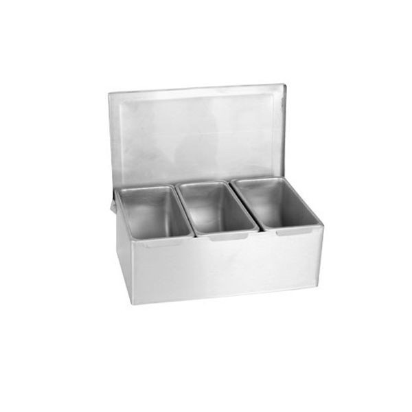 Thunder Group SSCD003 3 Condiment Compartments