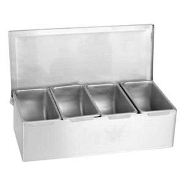 Thunder Group SSCD004 4 Condiment Compartments