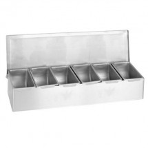 Thunder Group SSCD006 6 Condiment Compartments