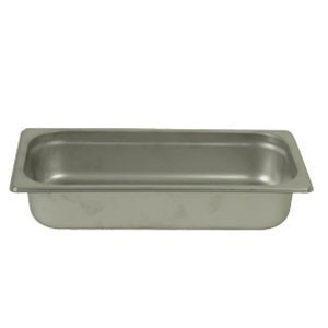 "Thunder Group STPA6142 Quarter Size Steam Pan 2-1/2"" - 1 doz"