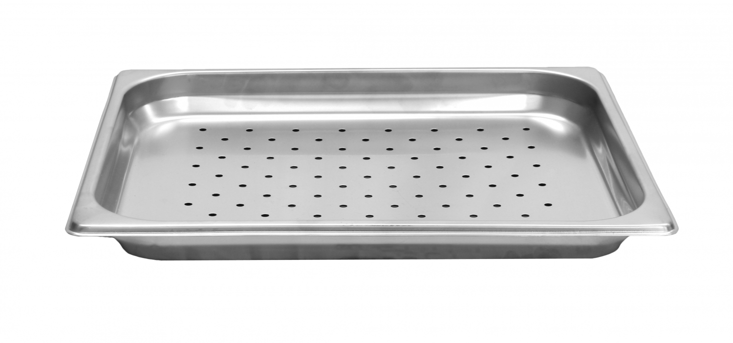 Thunder Group STPA7121PF Half Size Slotted Cover For Steam Pan