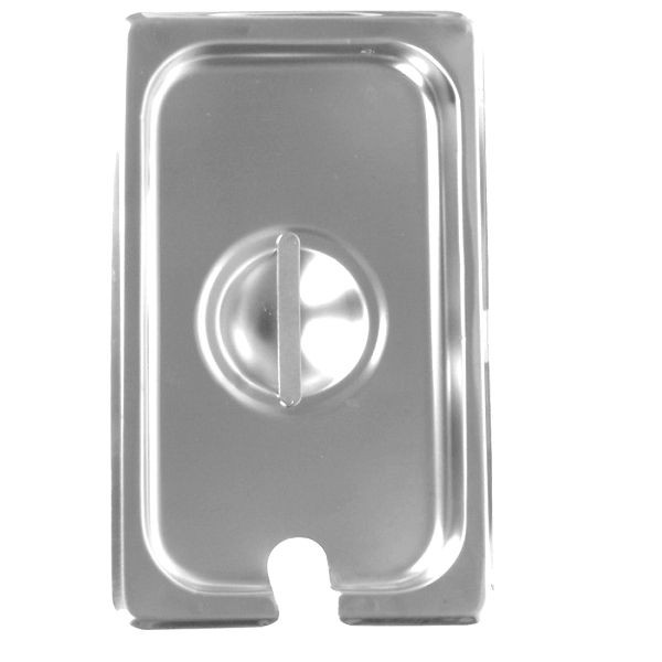 Thunder Group STPA7130CS Third Size Notched Steam Pan Cover - 1 doz