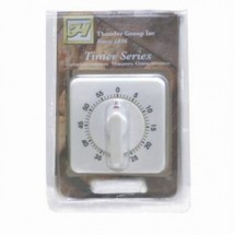 Thunder Group TIM-60 60 Minute Mechanical Timer - 1 doz
