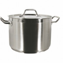 TigerChef Stainless Steel Stock Pot with Cover 12 Qt.