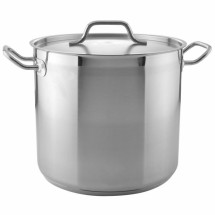 TigerChef Stainless Steel Stock Pot with Cover 16 Qt.