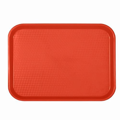 TigerChef BPA Free Fast Food Tray, 6 Colors 12