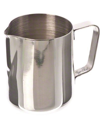 TigerChef Stainless Steel Milk Frothing Pitcher 12 oz.