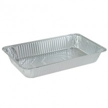 TigerChef Aluminum Full Size Foil Pans - 5 pcs