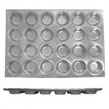 TigerChef Aluminum 24 Cup Muffin Pan