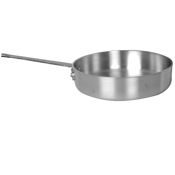 TigerChef Heavy Duty Aluminum Saute Pan 2 Qt.