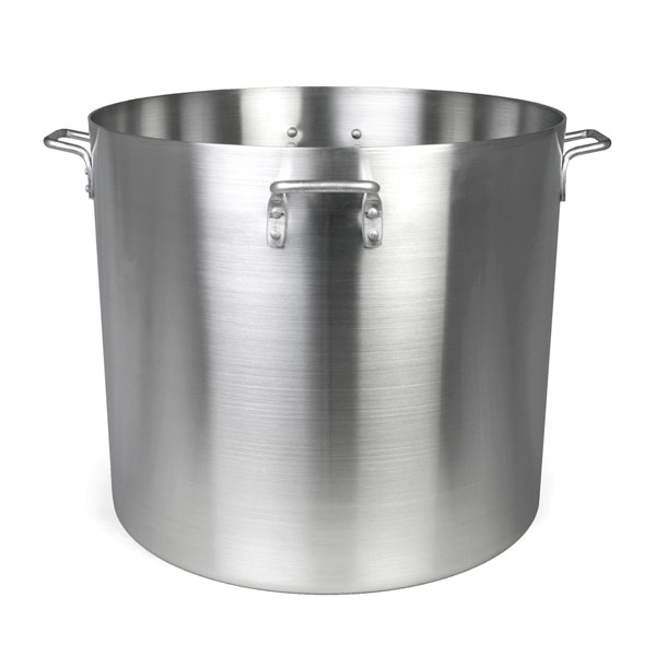 TigerChef Heavy Duty Aluminum Stock Pot 140 Qt.