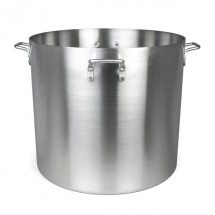 TigerChef Heavy-Duty Aluminum Stock Pot 160 Qt.