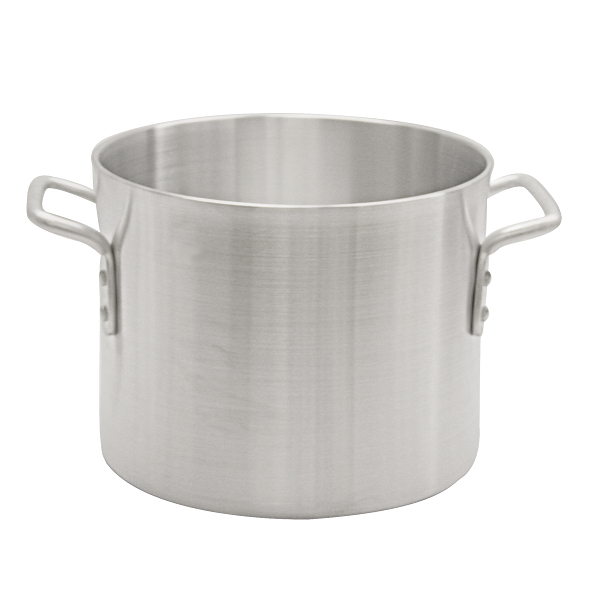 TigerChef Heavy-Duty Aluminum Stock Pot 8 Qt.