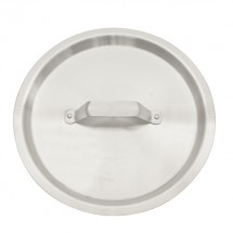 TigerChef Aluminum Stock Pot Lid 200 Qt.
