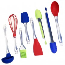 TigerChef 8-Piece Silicone Baking Utensils Set