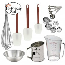 TigerChef  Professional Bakers 15-Piece Baking Utensils Set