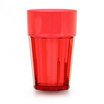 TigerChef Break Resistant Plastic Diamond Pattern Tumbler 14 oz. - 6 pcs