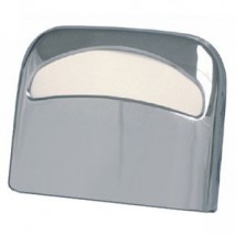 TigerChef Chrome Half Fold Toilet Seat Cover Dispenser