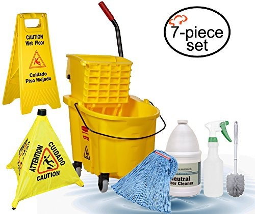 TigerChef Commercial Grade Housekeeping Janitorial Set