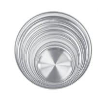 TigerChef Aluminum Coupe Pizza Tray 8""