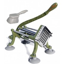 TigerChef-French-Fry-Cutter-1-2-quot----Includes-Suction-Feet-and-Cleaning-Brush