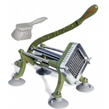 TigerChef-French-Fry-Cutter-1-4-quot----Includes-Suction-Feet-and-Cleaning-Brush