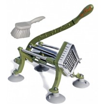 TigerChef-French-Fry-Cutter-3-8-quot----Includes-Suction-Feet-and-Cleaning-Brush
