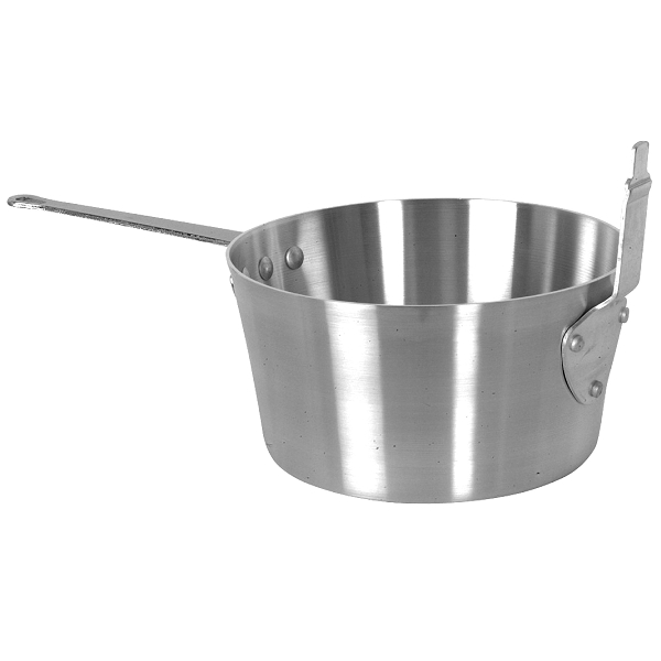 TigerChef Aluminum Fryer Sauce Pan 10 Qt.