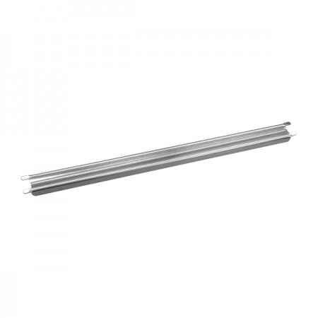 TigerChef Grooved Steam Table Adaptor Bar 12""