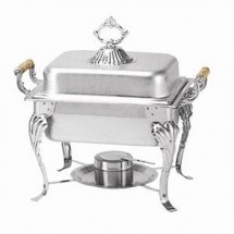 TigerChef Half Size Deluxe Square Chafer 4 Qt.