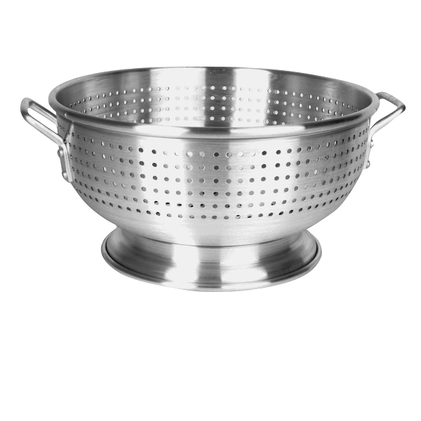 TigerChef Aluminum Colander with Handles 16 Qt.
