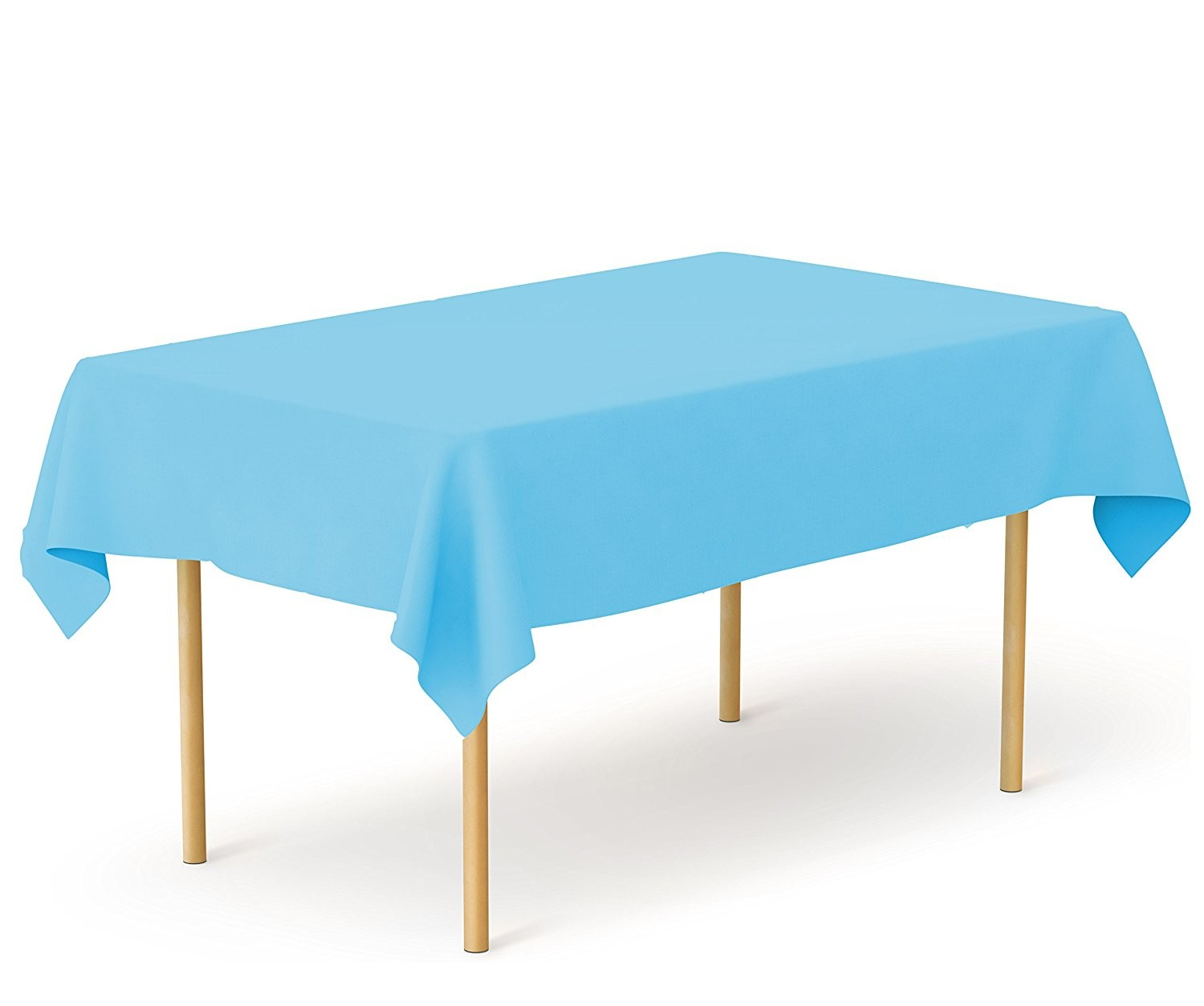 how to cut plastic tablecloth