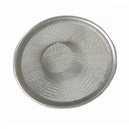 TigerChef Large Stainless Steel Mesh Sink Strainer 4-1/2""