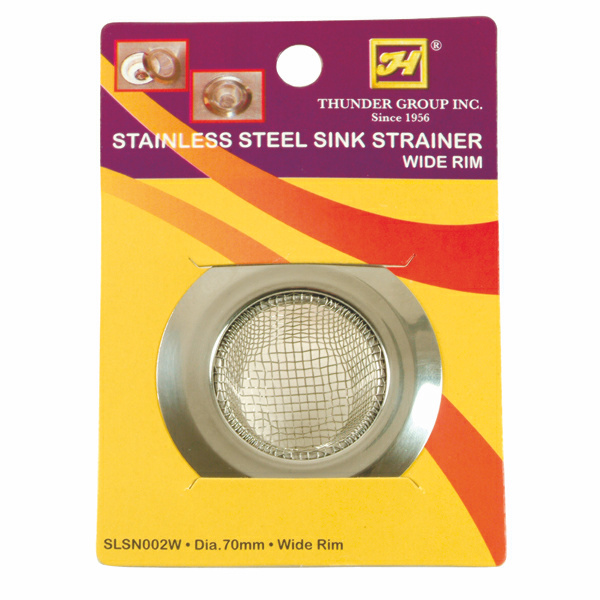 TigerChef Large Stainless Steel Sink Strainer