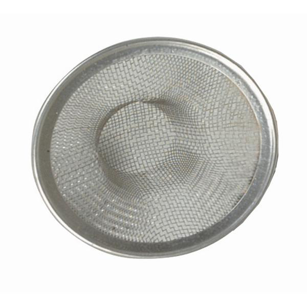 Commercial Sink Strainer : TigerChef Large Stainless Steel Sink Strainer 4-1/2