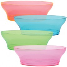 TigerChef Neon Party Bowls 10 oz. - 8 pcs