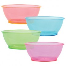 TigerChef Neon Party Bowls 6 oz. - 8 pcs