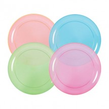 "TigerChef Neon Party Plate 6"" - 8 pcs"